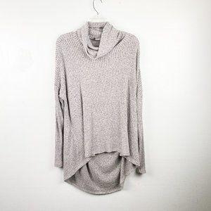 ANTHROPOLOGIE SATURDAY SUNDAY Cowlneck Sweater M/L